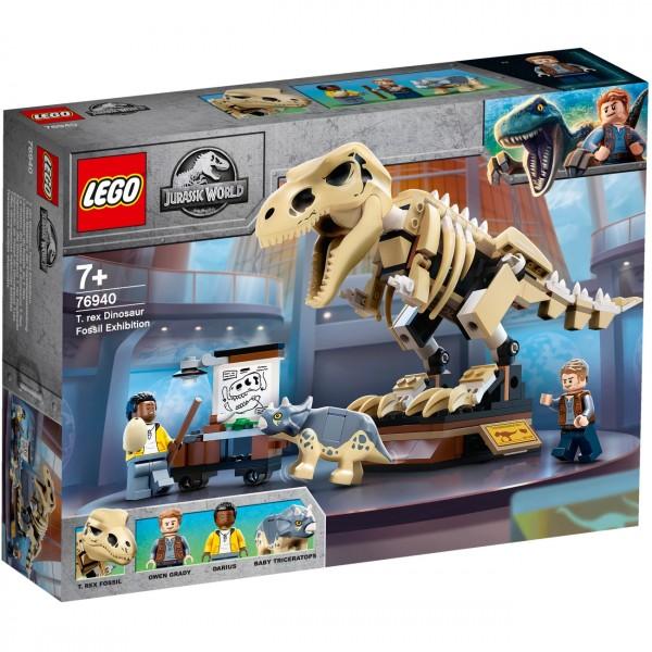 LEGO Jurassic World 76940 - T-Rex Skelett in der Fossilienausstellung