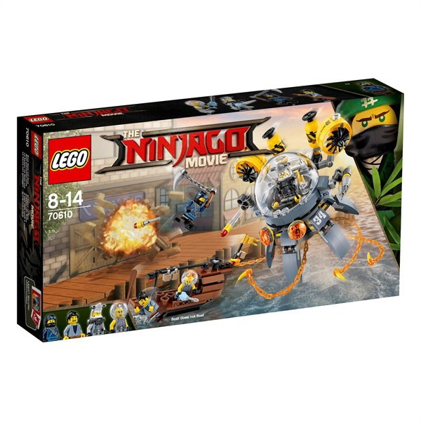 LEGO NINJAGO Movie 70610 - Turbo Qualle