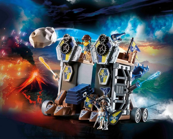 Playmobil 70391 - Novelmore Mobile Katapultfestung