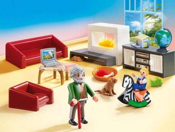 Playmobil 70207 - Gemütliches Wohnzimmer (Dollhouse)