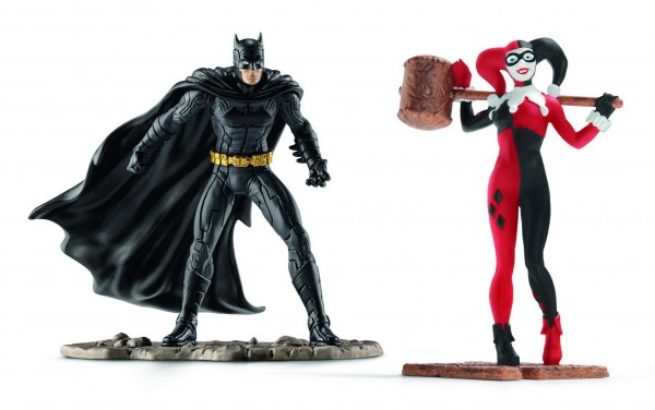 Scenery Pack Batman vs Harley Quinn - Schleich 22514