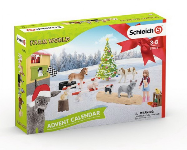 Schleich Adventskalender Farm World Bauernhof 2019 (97873)