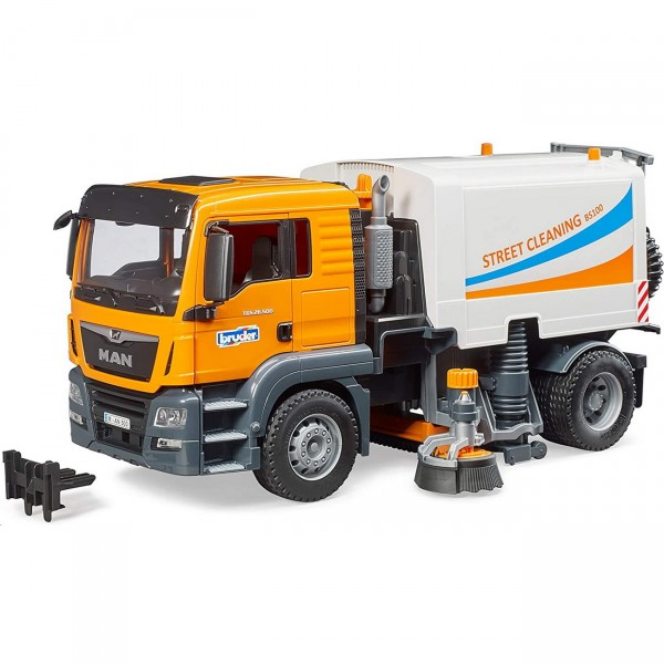 BRUDER 03780 - MAN TGS LKW Straßenreinigung - LKW Modell