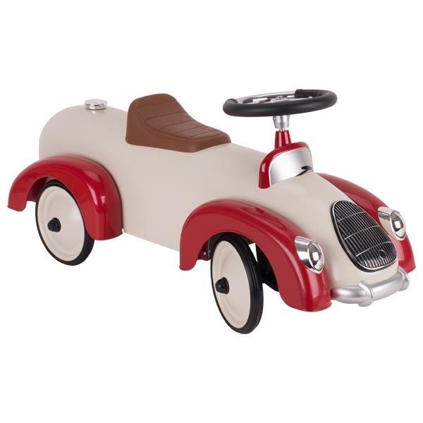 Rutscherfahrzeug beige-rot