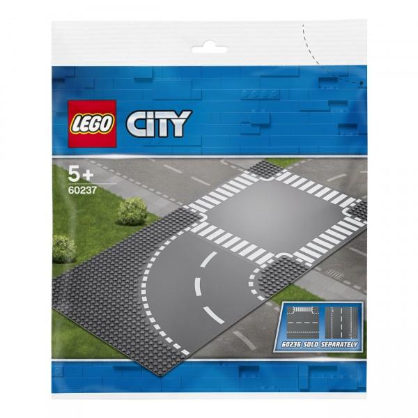 LEGO City 60237 - Kurve und Kreuzung