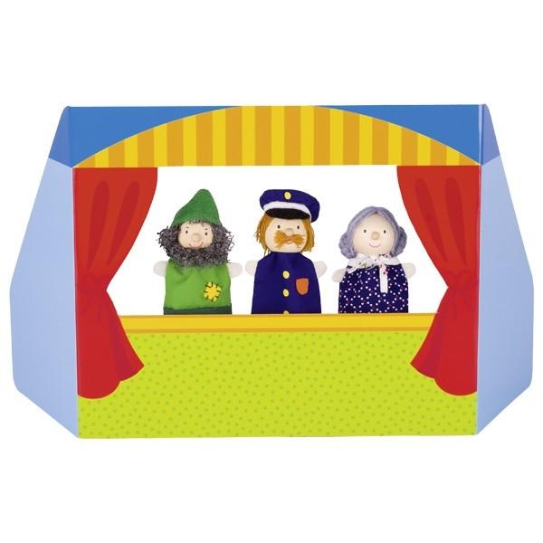 Fingerpuppen Set Kaspertheater III (goki 51591)