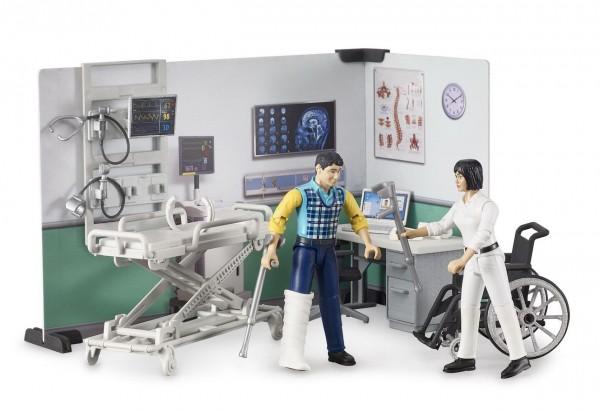 bworld 62711 - Krankenstation mit Figuren (Bruder)