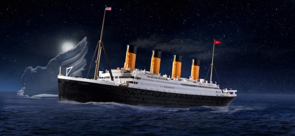 Revell 05498 - RMS TITANIC - Modell Schiff