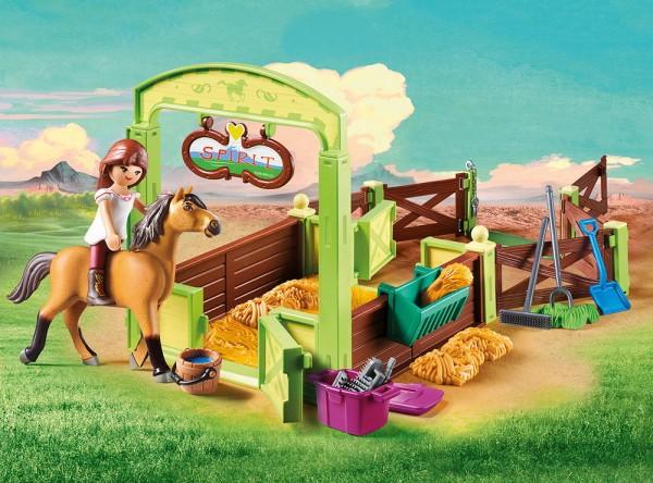 Playmobil 9478 - Pferdebox Lucky & Spirit