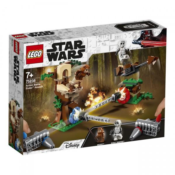 LEGO Star Wars 75238 - Action Battle Endor Attacke