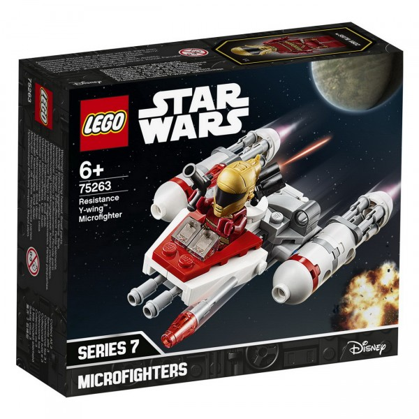 LEGO Star Wars - Widerstands Y-Wing Microfighter (75263)