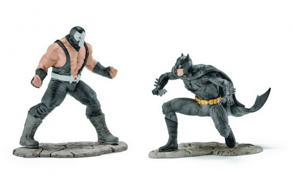 Scenery Pack Batman vs Bane - Schleich 22540