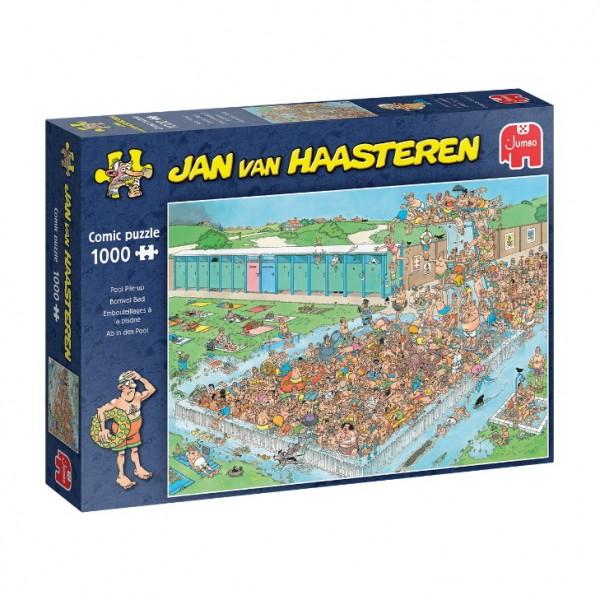 Puzzle - Ab in den Pool - Pool Pile-Up (van Haasteren) - 1000 Teile