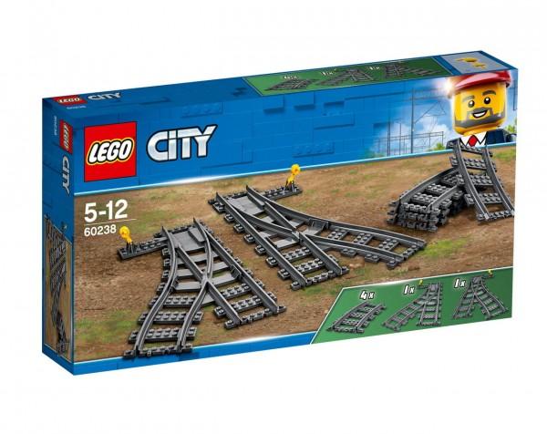 LEGO City 60238 - Eisenbahn Weichen
