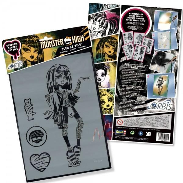 Orbis Schablone XL - Cleo de Nile 30222 Monster High