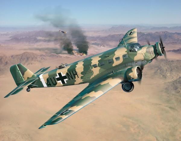 Revell 03918 - Junkers Ju5 - 3m Transport - Flugzeug Modell