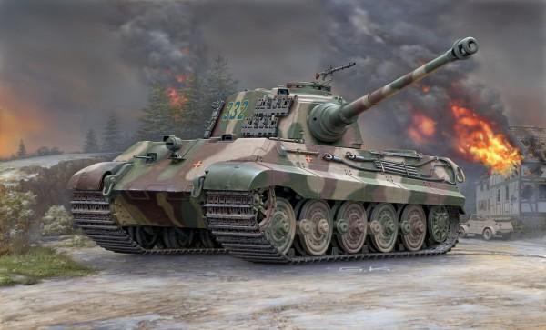 Revell 03249 - Tiger II Ausf.B (Henschel Turm) Modell