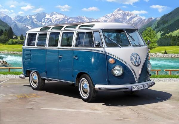 Revell 07009 - VW T1 Samba Bus