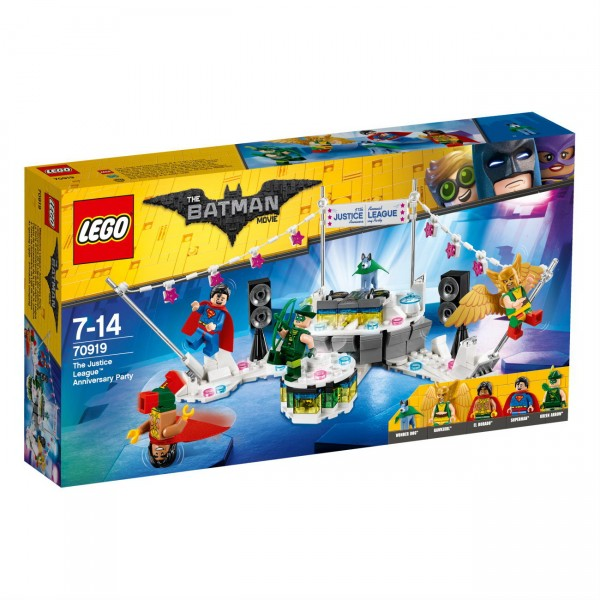 THE LEGO BATMAN MOVIE 70919 - The Justice League Anniversary Party