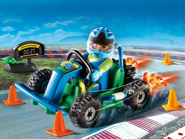 Playmobil 70292 - Geschenkset Go Kart Rennen - City Life