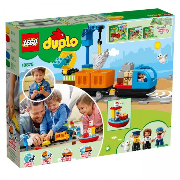 LEGO DUPLO 10875 - Güterzug Eisenbahn