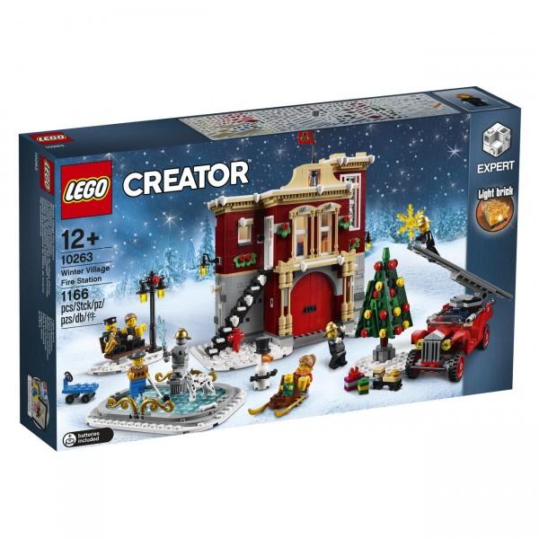 LEGO Creator 10263 - Winterliche Feuerwache