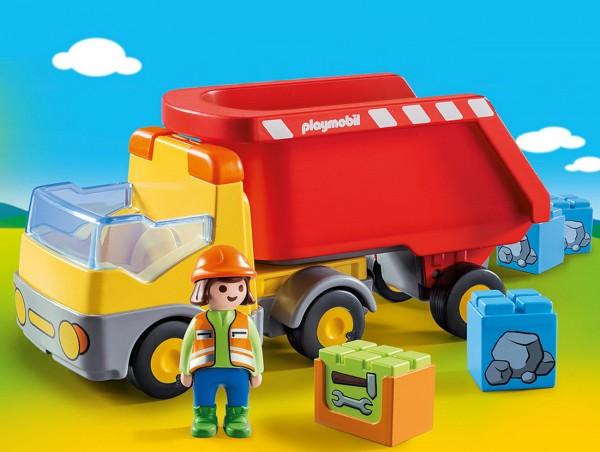 Playmobil 1 2 3 70126 - Kipplaster