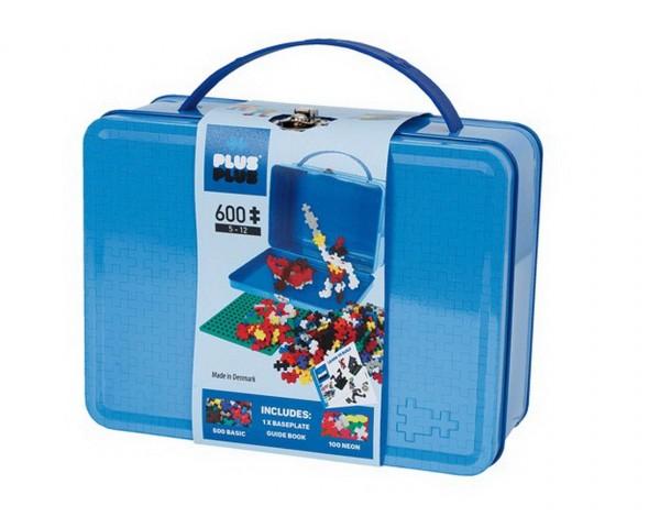 Plus-Plus - Basic Box Metall Koffer 600 Teile (7002) - Bausteine kaufen