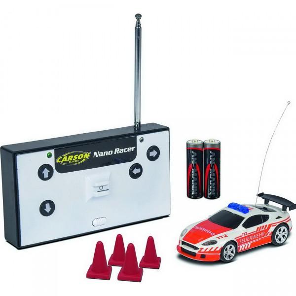 Carson 1:60 Nano Racer Feuerwehr 27MHz (404180)
