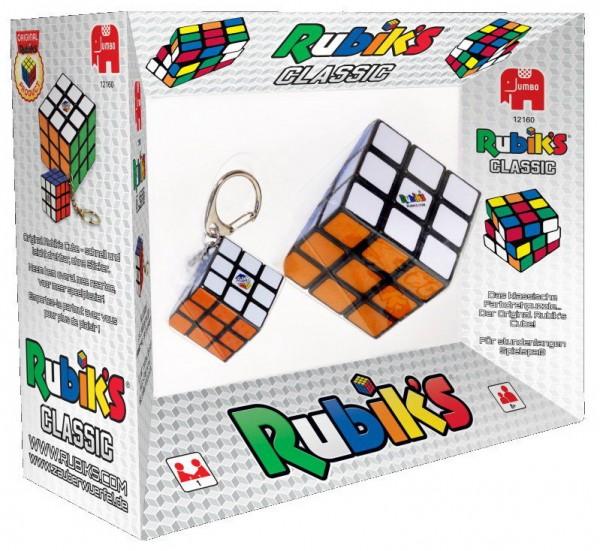 Rubiks Cube 3x3x3 und Schlüsselanhänger