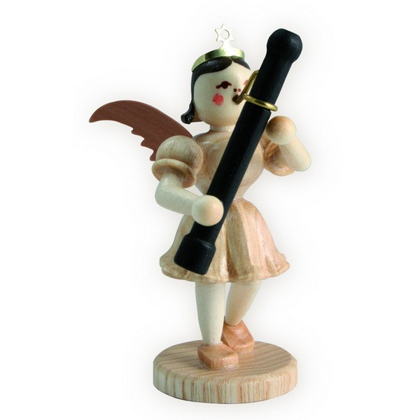 Blank Kurzrock-Engel mit Fagott