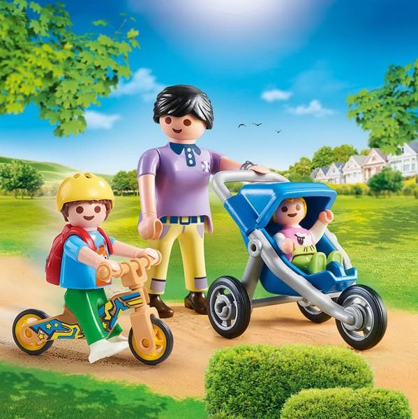 Playmobil 70284 - Mama mit Kindern - City Life