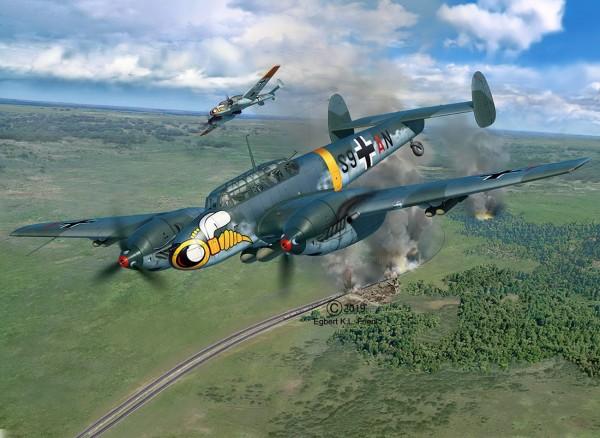 Revell 04961 - Messerschmitt Bf110 C-7 - Modell Flugzeug