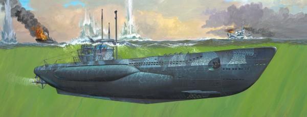 Revell 05163 - U-Boot TYP VII C/41 - U995 Laboe - Modell