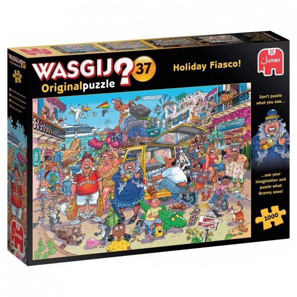Wasgij Puzzle 37 - Holiday Fiasco - 1000 Teile