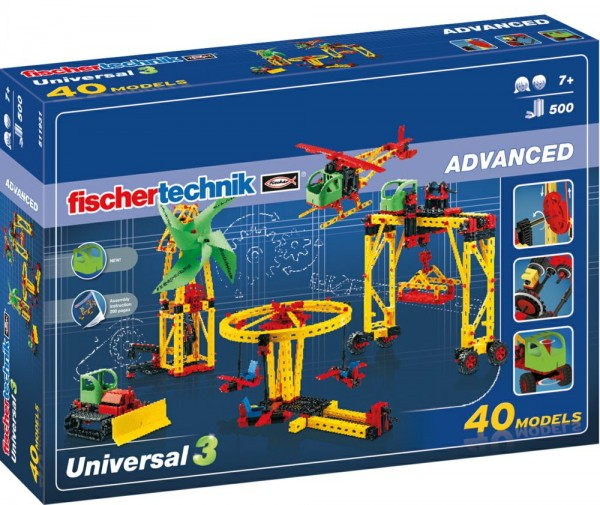 fischertechnik 511931 - Universal 3 (Advanced)