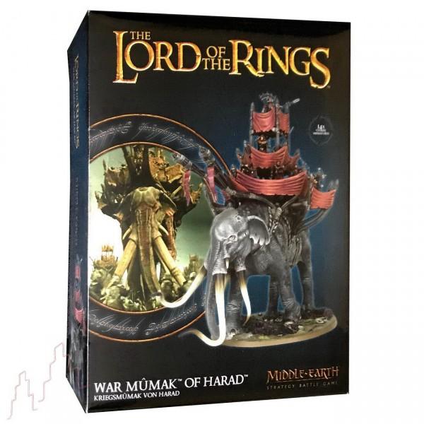 Games Workshop Kriegsmumak von Harad - Der Herr der Ringe Figur
