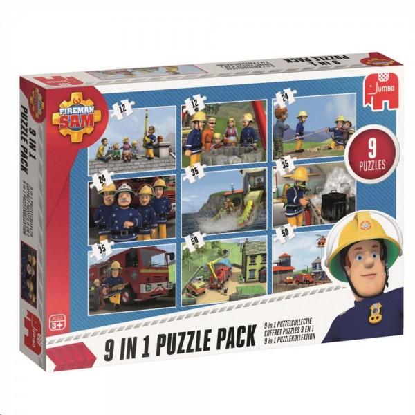 Puzzle - Feuerwehrmann Sam 9in1 Puzzle Pack (Jumbo)