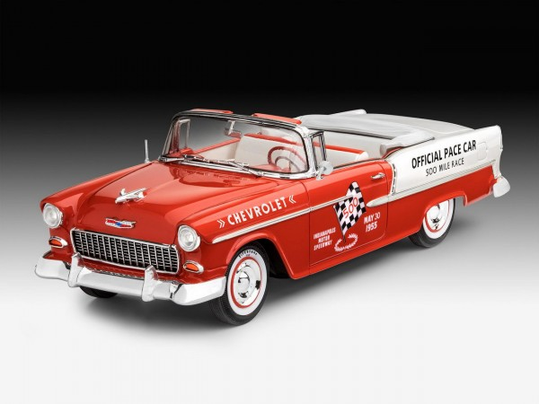 Revell 07686 - 1955 Chevy Indy Pace Car - Auto Modell