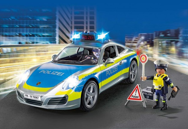 Playmobil 70067 - Porsche 911 Carrera 4S Polizei (City Action)