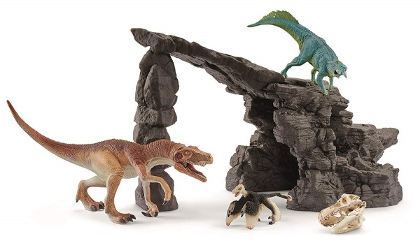 Dinoset mit Höhle - Schleich (41461) Dinosaurier