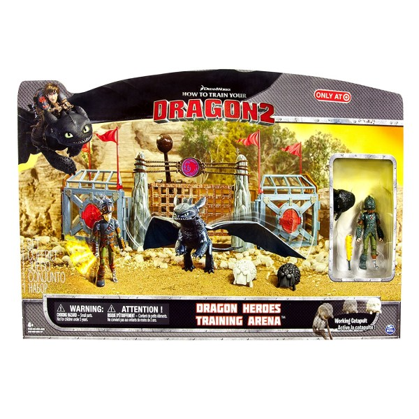 Dragons Heroes Training Arena - Spinmaster 6023193