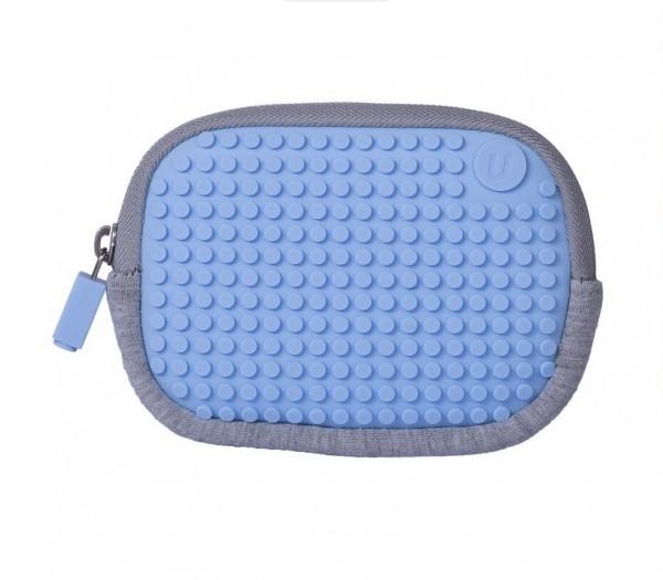 Pixelbag Universaltasche grau/ blau