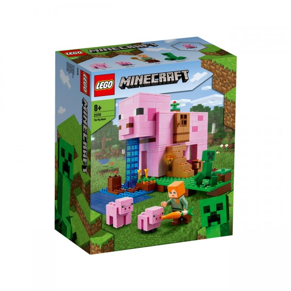 LEGO Minecraft 21170 - Das Schweinehaus
