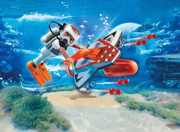 Playmobil 70004 - Spy Team Underwater Wing (Top Agents)