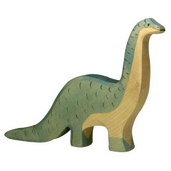 Holztiger Brontosaurus (80332) Dinosaurier Figur