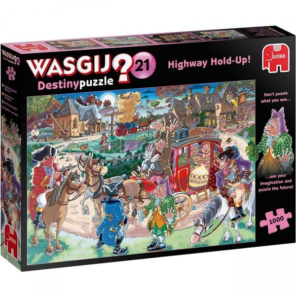 Wasgij Destiny 21 - Überfall auf der Straße - Puzzle