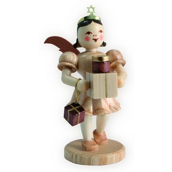 Blank Kurzrock-Engel mit Geschenken