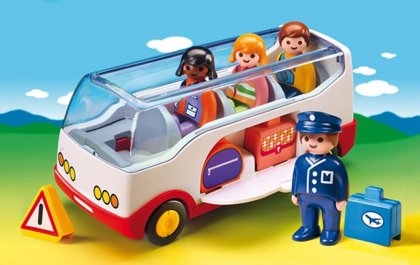 Playmobil 6773 - 1.2.3 Reisebus