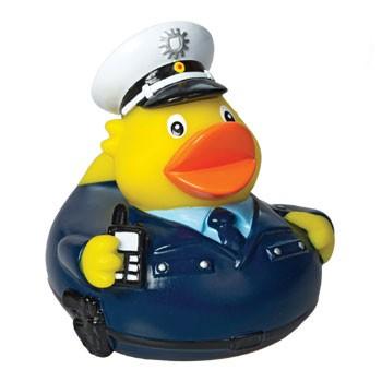 Quietsche-Ente Polizist